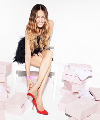 Exclusive! Sarah Jessica Parker Gives Us a Sneak Peek Inside the Whimsical Campaign for Her New Shoe Collection