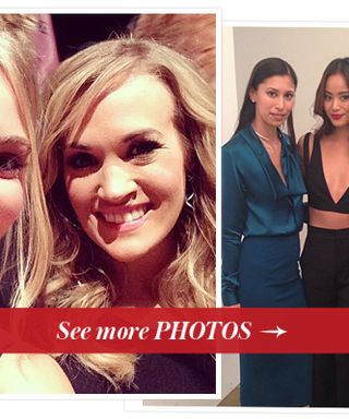 11 Celebrity Instagrams from the Front Rows at #NYFW