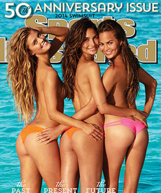 """Exclusive: All the """"Cheeky"""" Details of the Gorgeous Sports Illustrated Swimsuit Cover Girls' Barely-There Swimwear"""
