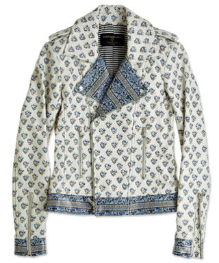 We're Obsessed: Marti x Dani Stahl for Calypso St. Barth, The Block Print Moto Jacket