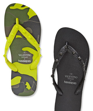 Valentino and Havaianas Collaborated On a New Line of Super Luxe Flip-Flops