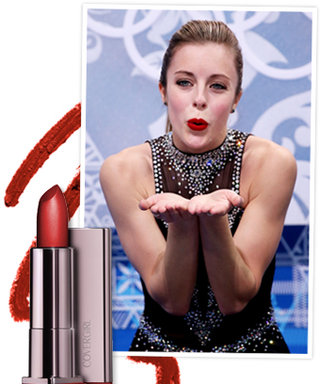 Ashley Wagner's Signature Bright Red Lip Is Inspired by Miley Cyrus
