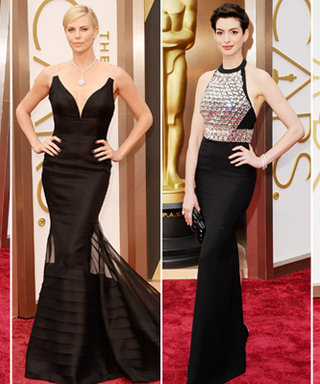 Trend Alert: Hollywood Goes Dark Glamour On the Oscars Red Carpet