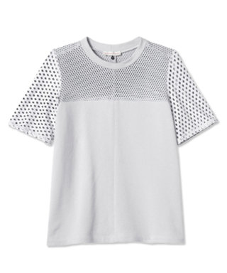 We're Obsessed: Rebecca Taylor's Perforated Leather Top