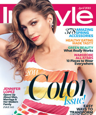 "Jennifer Lopez in the April InStyle: ""I'm Living a Much More Unscripted Life Now"""