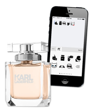 """Karlify"" Your Texts With This New App, Brought to You by Karl Lagerfeld Himself"