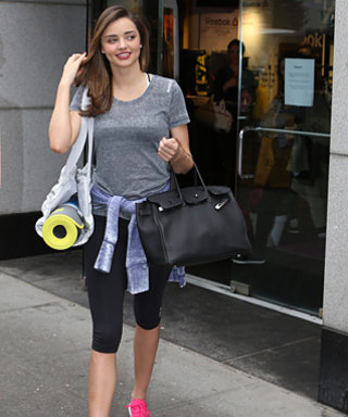 Miranda Kerr's Secret to Staying in Shape Involves Showering With Her Shoes On