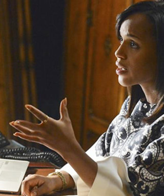 "Major #ScandalHangover: Get the Style Scoop On the ""Complicated Prints"" from Last Night's Episode"