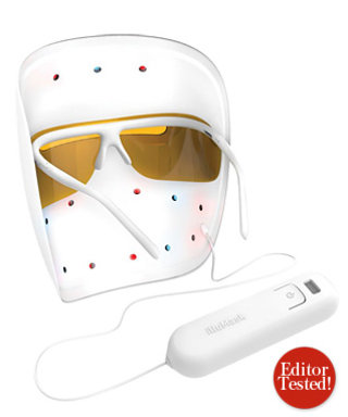 Editor Tested: Does Illumasku0027s Acne Fighting LED Light Mask Create A Clear  Complexion?   InStyle.com Pictures Gallery