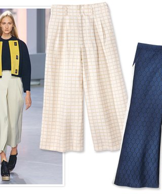Spring's Hot New Pant: The Wide Crop
