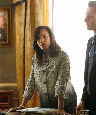 "Get the Style Scoop on Olivia Pope's ""Intricate"" Wardrobe from Last Night's Scandal Episode"