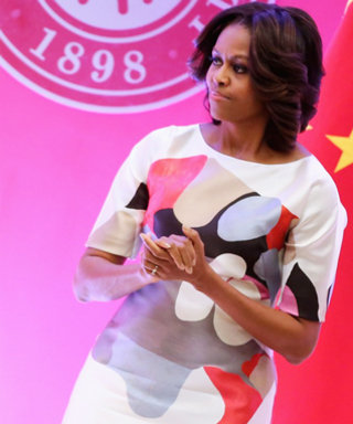 Michelle Obama's First-Ever China Trip Is Off to a Stylish Start