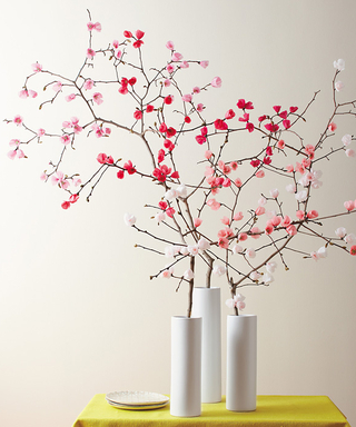 Make It Yourself: A Spring Bouquet of Paper Cherry Blossoms