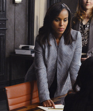 "Olivia Pope Opts for a ""Business"" Wardrobe on Last Night's Scandal"