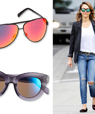 Celebrity-Inspired Accessories Trend To Try Now: Mirrored Sunglasses