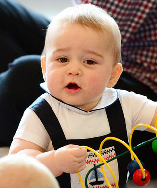 Found It! Prince George's On-Trend Baby Overalls