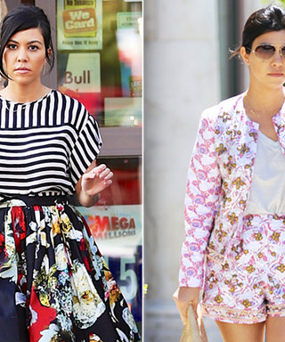 Found It! Kourtney Kardashian's Spring Prints
