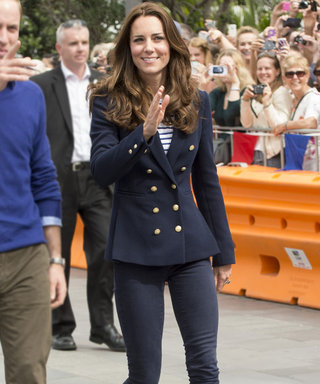 Ship Shape! Kate Middleton Goes For a Nautical Look on the Royal Tour