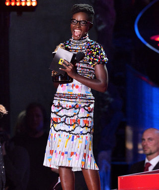 In Living Color: Lupita Nyong'o Lights Up the MTV Movie Awards in Playful Chanel