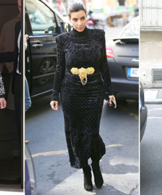 Kim Kardashian's Polished Parisian Style (Plus a Hint at Who May Design Her Wedding Dress!)