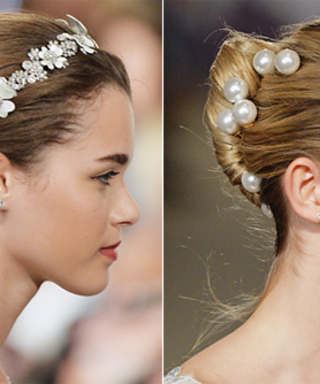 Calling All Brides-to-Be! Get Inspired By the Prettiest Updos From Bridal Fashion Week