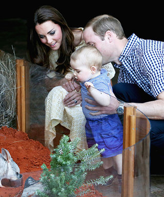 Prince George Goes to the Zoo, and It's Just as Adorable as You Would Imagine