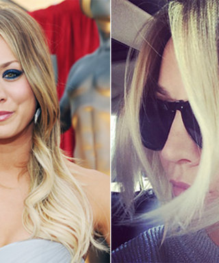 Kaley Cuoco Chops Her Long Locks Into a Bob (For Real This Time!)