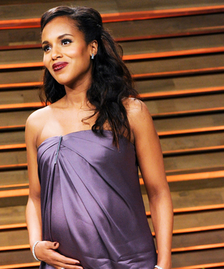 Kerry Washington's Best Maternity Looks