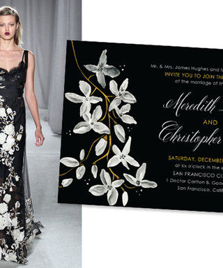 Check Out Marchesa's Gorgeous New Wedding Stationery