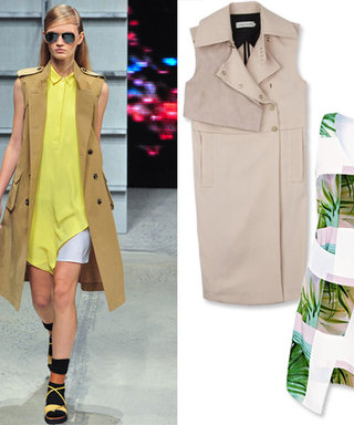 #HowToWearIt: The Sleeveless Trench