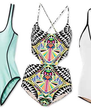 Dive In! The 20 Must-Have One-Piece Swimsuits of the Season