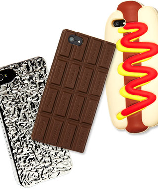 For Designer Jeremy Scott, the Bigger the Foodie Phone Case, the Better!