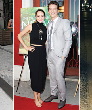 What Kind of Shoes Does Shailene Woodley Wear on the Red Carpet? Preferably, None at All