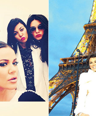 We're Keeping Up with the Kardashians in Paris on Instagram!