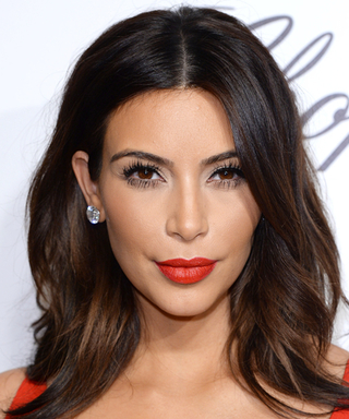Here's How You Can Get Perfect Faux Lashes Like Kim Kardashian's