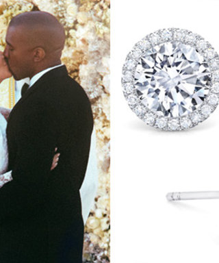 Kim Kardashian's Wedding Earrings Were Actually a Gift from Kanye from Over a Year Ago