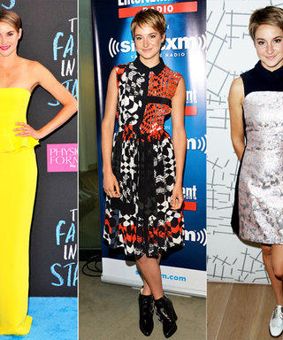 We're Starry-Eyed for Shailene Woodley's #TFIOS Red Carpet Looks