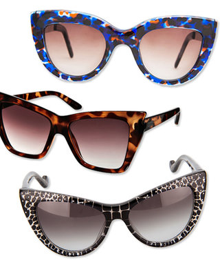 Cat's Eye Sunnies, a Runway-Inspired Accessories Trend to Try