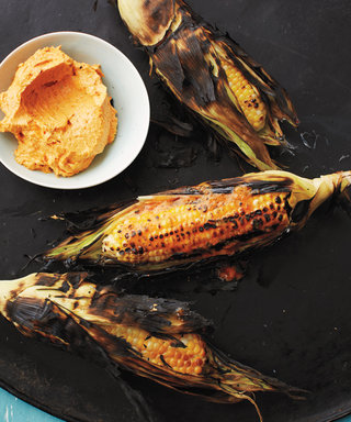 Fire Up the Grill for Father's Day with Red Pepper Buttered Corn on the Cob