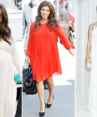 Look Back at Maternity Style Pro Kourtney Kardashian's Pregnancy Fashion History