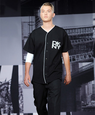 Jude Law's Look-Alike Son Walks the Runway During DKNY's Menswear Presentation