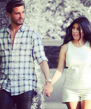 Kourtney Kardashian Shows Off Her Tiny Baby Bump