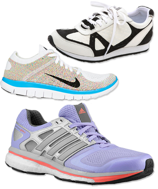 9 Chic & Stylish Sneakers to Spruce Up Your Workout Wardrobe