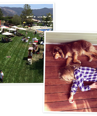 Babies, Doggies, and Best Friends: 10 Celebrity Instagrams We Love from the Weekend