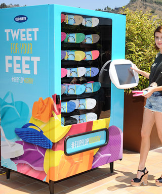 Old Navy Flip-Flops Are Coming to a Vending Machine Near You