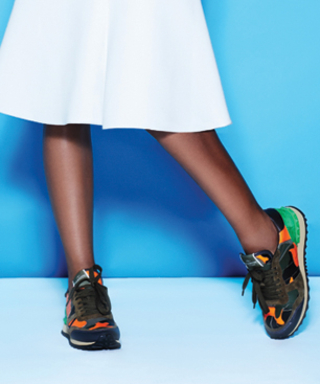Kickin' It: Amp Up Any Outfit with Stylish Sneaks