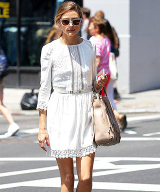 Olivia Palermo Gives Us a Preview of Her Nuptial Style with the Perfect LWD