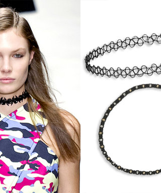 Flashback to the '90s: Runway-Inspired Chokers