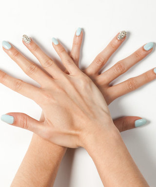 Mani Of The Moment: Here's How You Can Try Our Blinged-Out Nail Art At Home