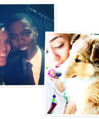 Miley's New Puppy, the BET Awards, and Lena Dunham as a Bridesmaid: See the Weekend's Celeb Instagrams